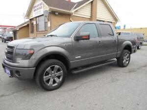 2013 FORD F-150 FX4 Crew Cab 4X4 Leather Navigation Sunroof 207K