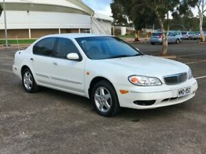 2000 Nissan Maxima A33 ST White 4 Speed Automatic Sedan Gepps Cross Port Adelaide Area Preview