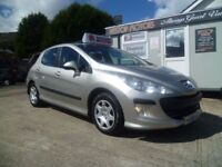 2008 PEUGEOT 308-NIL FINANCE AVAILABLE-WE ACCEPT ALL MAJOPR CREDIT/DEBIT CARDS