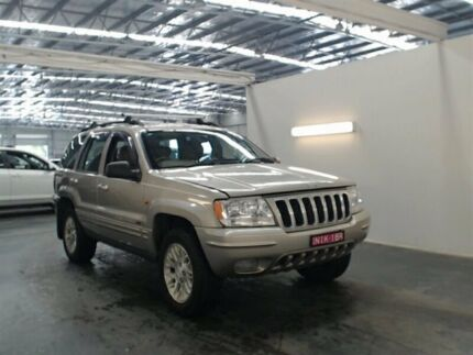 2003 Jeep Grand Cherokee WG Limited (4x4) Gold 5 Speed Automatic Wagon