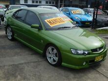 2003 Holden Commodore VY II SS Green 6 Speed Manual Sedan New Lambton Newcastle Area Preview