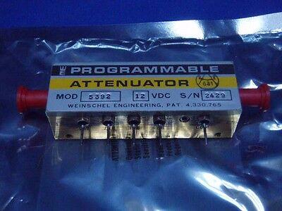Weinschel Model 5392 Programmable Attenuator