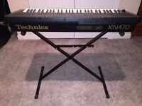 Electric Keyboard - Technics KN470 With Stand