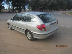 2001 Kia Rio Hatchback tow behind Yarrawonga Moira Area Preview