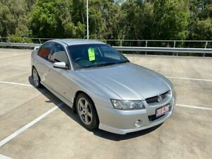 2006 Holden Commodore VZ MY06 SV6 Silver 5 Speed Auto Active Select Sedan Morayfield Caboolture Area Preview