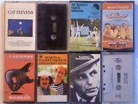 A-Z LATEST. P SLEDGE SINATRA SIMON & G SHADOWS SPINNERS SPRINGSTEEN CAT S PRERECORDED CASSETTE TAPES