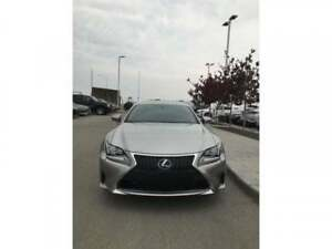 2015 Lexus RC 350 AWD,RC350FSport,Loaded,Lowkms