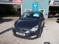 FORD GALAXY 2.0 ZETEC TDCI 5d AUTO 140 BHP 7 seater automatic (grey) 2009
