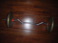 Barbell weights for sale