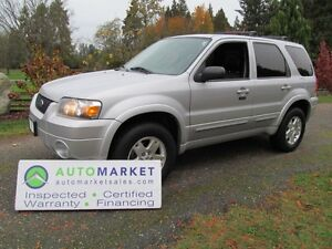2006 Ford Escape Limited, 4WD, Load, Insp, Warr