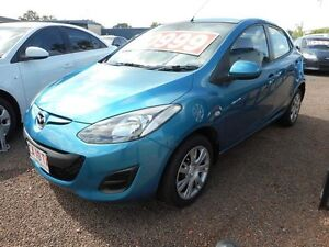 2012 Mazda 2 DE10Y2 MY12 Neo Blue 4 Speed Automatic Hatchback Winnellie Darwin City Preview