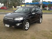 2011 Holden Captiva CG MY10 LX AWD Black 5 Speed Sports Automatic Wagon Hastings Mornington Peninsula Preview