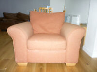 Next Garda Armchair and Storage Footstool