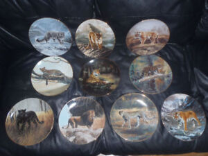 Plate Collection World's Most Magnificent Cats - Charles Franc