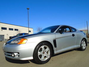 2003 Hyundai Tiburon GT-TUSCANI EDITION-LEATHER-SUNROOF-6 SPEED