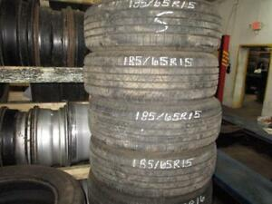 185/65 R15 MOTOMASTER SE3 USED TIRE (SET OF 4) - APPROX. 90% TREAD