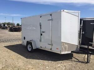 6ft x 12ft Enclosed Trailer (RWT6x12 Single Axle) London Ontario image 1