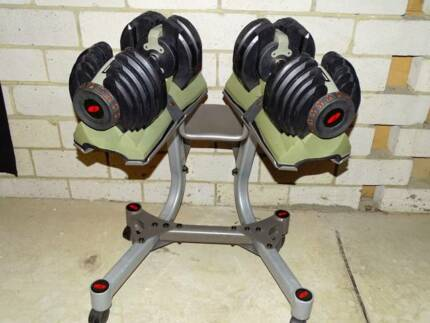 Bowflex SelectTech 552s Adjustable Dumbbells  (with stand) Narrabeen Manly Area Preview