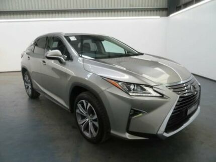 2015 Lexus RX350 GGL25R LUXURY Sonic Titanium Steptronic Wagon Albion Brimbank Area Preview