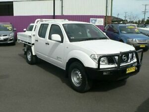2012 Nissan Navara D40 MY12 RX (4x4) White 6 Speed Manual Dual Cab Chassis Dubbo Dubbo Area Preview