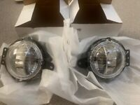 2x Front Left&Right Bumper Fog Lights Lamps For BMW Mini Cooper R55 R56 06-14