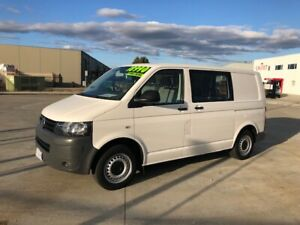 VW Transporter 6 Seater Turbo Diesel  Derwent Park Glenorchy Area Preview