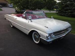 Classic 1961 Ford Galaxie Victoria Sunliner Convertible!