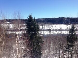 8+ Acres overlooking the Nashwaak River