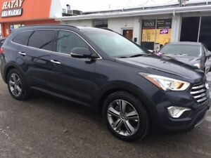 2015 XL Santa fe ,Blue,Limited ,6 pass,Top of the line,like new