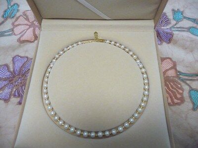 Natural Fresh Water Pearl Necklace From Famous Tai Hu Lake In Wuxi  China