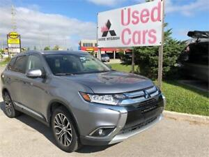 2018 Mitsubishi Outlander GT S-AWC *V6 *LEATHER *WARRANTY