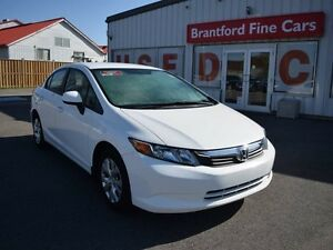 2012 Honda Civic LX 4dr Sedan