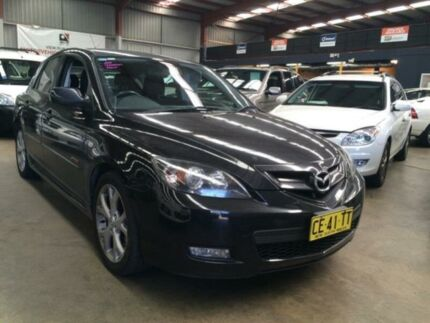 2008 Mazda 3 BK MY06 Upgrade SP23 Black 6 Speed Manual Hatchback Macquarie Hills Lake Macquarie Area Preview
