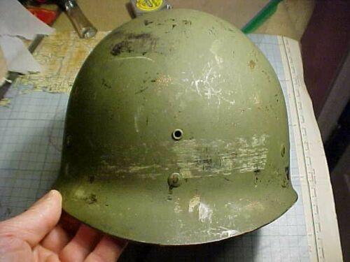 ORIGINAL WWII US CAPAC HELMET LINER NAMED TO LOYED JOHNSON