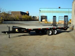 20' Deckover Float Trailer - 5 Ton
