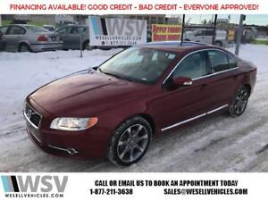 2011 Volvo S80 / AWD / WINTER READY / 2 SETS / REMIUM SOUND