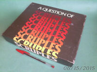 a Question of SCRUPLES complete 1984
