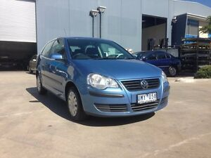 2006 Volkswagen Polo 9N MY06 Upgrade Club Blue 5 Speed Manual Hatchback Newport Hobsons Bay Area Preview