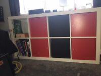 White Ikea Box Unit - very good condition