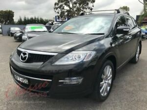 2008 Mazda CX-9 Luxury Black 6 Speed Auto Activematic Wagon Lansvale Liverpool Area Preview