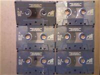 LAST ONE... 7 MAXELL XLII 60 90 FOR £21, FREE P&P CHROME CASSETTE TAPES CLEAN CCLs & A GUARANTEE
