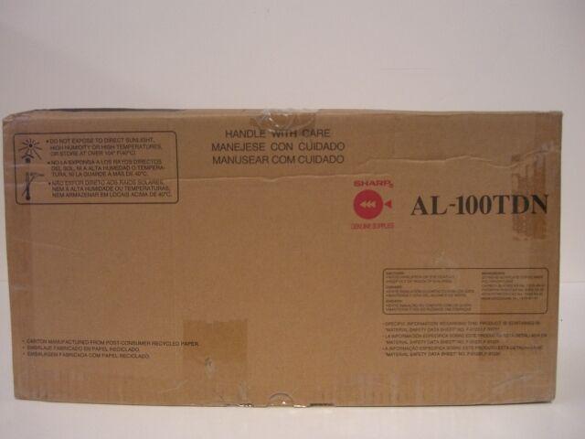 Sharp Toner Cartridge Black Black AL-100TD