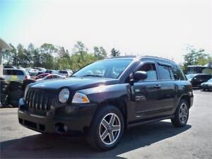 JEEP COMPASS 4X4! GREAT CONDITION! NEW MVI! SUNROOF, LOW MILEAGE
