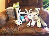 """Reduced """" Nintendo Wii """" Console with GAMES & Accessories"""