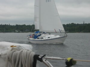 1976 Newport 28 sailboat