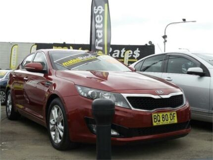 2012 Kia Optima TF MY12 SI Red 6 Speed Sports Automatic Sedan