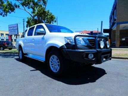 MY12 TOYOTA HILUX SR5 4X4 UTILITY DUAL CAB AUTOMATIC SPORTS TURBO DIESEL Five Dock Canada Bay Area Preview