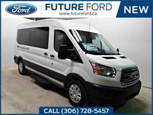 2018 Ford Transit Passenger Wagon XLT|REMOTE START|LIMITED SLIP