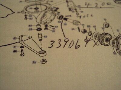 103010351020 Massey Ferguson Part 4wheel Drive Axle Bearing 339064xi