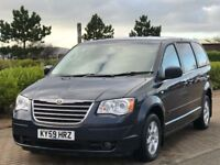 CHRYSLER GRAND VOYAGER 2.8 CRD TOURING 5d AUTO 161 BHP (blue) 2009